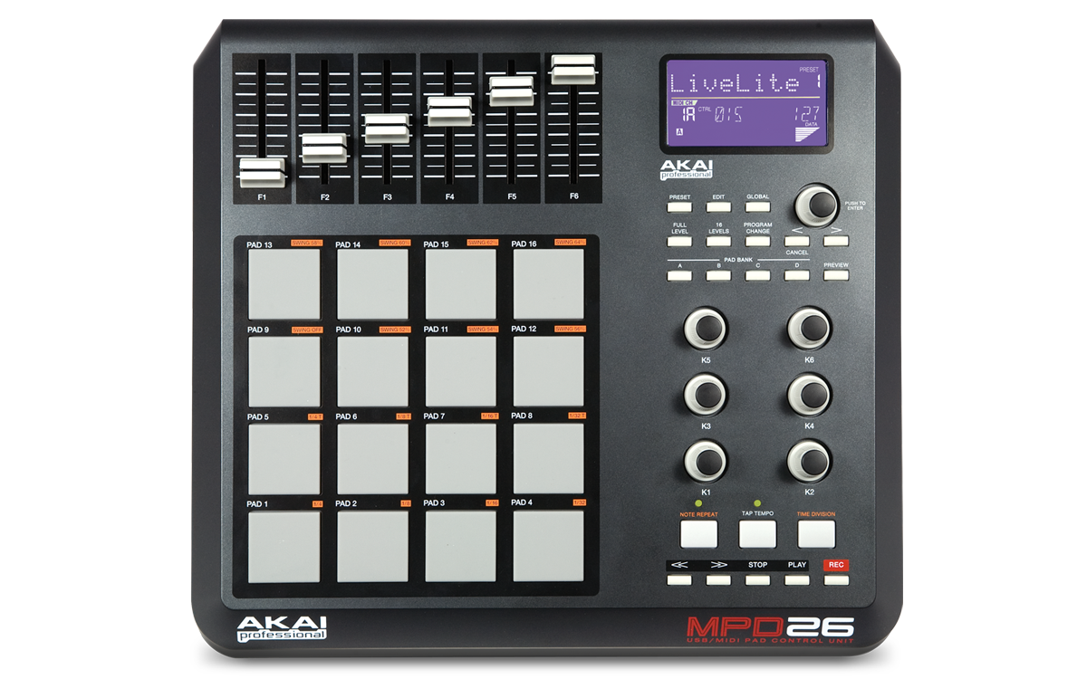 akai professional akai mpd series using the vyzex preset editor rh akaipro com Example User Guide Kindle Fire User Guide