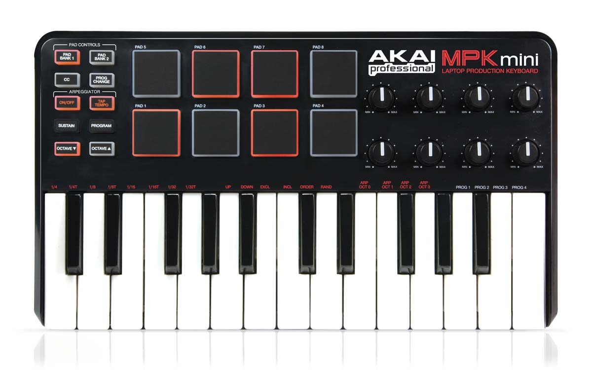 akai professional mpk mini rh akaipro com Akai MPK Mini Cord Replacements Akai MPK Mini